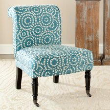 <strong>Safavieh</strong> Matthew Fabric Slipper Chair