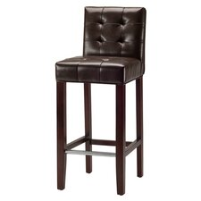 "<strong>Safavieh</strong> Thompson 35"" Bar Stool with Cushion"