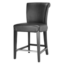 "<strong>Safavieh</strong> Seth 24"" Bar Stool with Cushion"