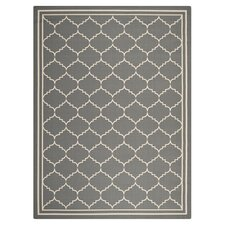 Courtyard Grey / Beige Outdoor Rug