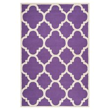 Cambridge Purple / Ivory Rug