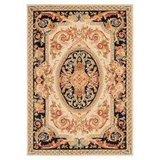 Savonnerie Ivory/Gold Rug