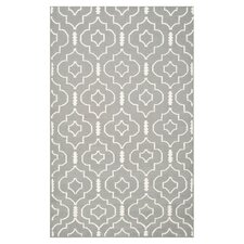 Dhurries Grey/Ivory Rug