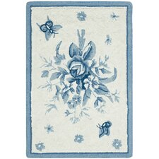 <strong>Safavieh</strong> Chelsea Blue Rose Rug