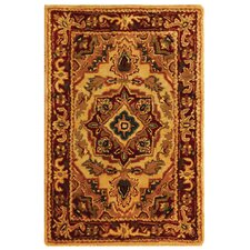 Classic Heriz Light Gold/Red Rug