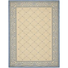 Courtyard Garden Gate Outdoor Rug