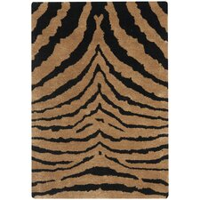 <strong>Safavieh</strong> Soho Black/Brown Rug