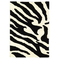 Soho White/Black Area Rug