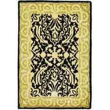 Silk Road Black/Ivory Rug