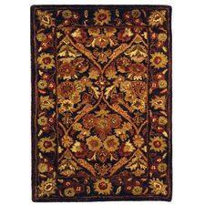 Antiquities Garden Panel Dark Plum/Gold Rug