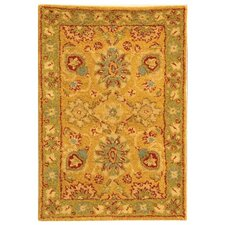 <strong>Safavieh</strong> Antiquities Dark Gold/Green Rug