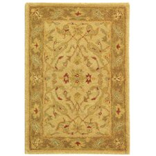 <strong>Safavieh</strong> Antiquities Ivory/Brown Rug