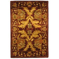 <strong>Safavieh</strong> Antiquities William Morris Wine/Gold Rug
