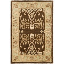 <strong>Safavieh</strong> Bergama Brown/Green Rug