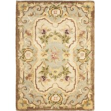 <strong>Safavieh</strong> Empire Ivory/Light Blue Rug