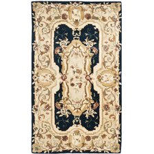 Empire Navy/Beige Rug