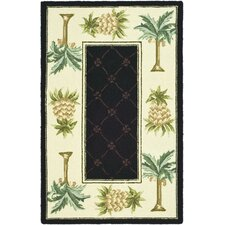 Chelsea Black/Ivory Novelty Rug