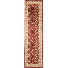 <strong>Safavieh</strong> Lyndhurst Red/Ivory Persian Rug