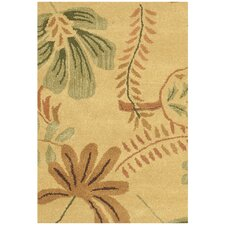 Jardin Beige/Multi Leaves Rug
