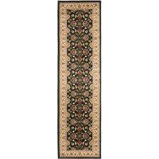 Lyndhurst Black/Ivory Persian Area Rug