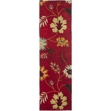 <strong>Safavieh</strong> Jardin Red/Multi Floral Rug