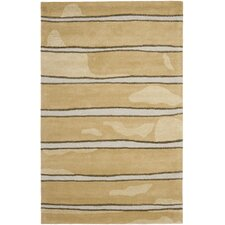 Martha Stewart Toffee Gold Area Rug