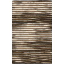 Martha Stewart Tilled Soil Brown Area Rug