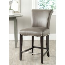 "<strong>Safavieh</strong> Mercer Seth 26"" Swivel Bar Stool"