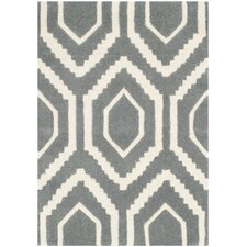 <strong>Safavieh</strong> Chatham Dark Gray Rug