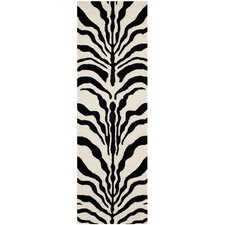 Cambridge Ivory and Black Rug