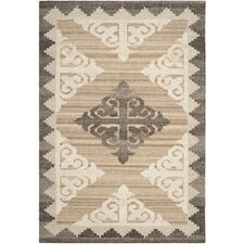 Kenya Brown and Charcoal Rug