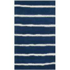 <strong>Safavieh</strong> Martha Stewart Wrought Iron Navy Rug