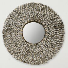 "24"" H x 24"" W Jeweled Chain Mirror"
