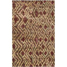 Bohemian Brown / Gold Rug