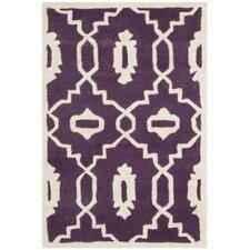 Chatham Purple / Ivory Moroccan Rug