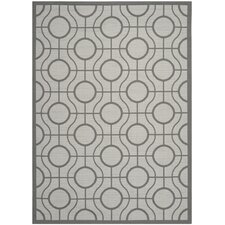Courtyard Light Grey / Anthracite Rug