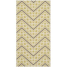 Hampton Green / Ivory Outdoor Rug