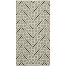 Hampton Light Blue / Ivory Outdoor Rug