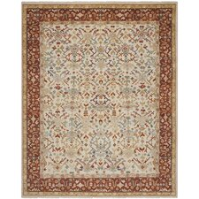 Sultanabad Ivory / Multi Colored Rug
