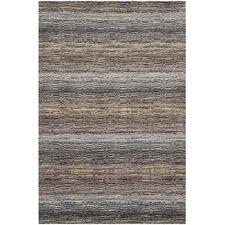 Himalaya Grey Stripes Area Rug