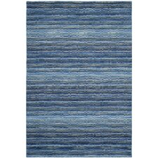 Himalaya Blue / Multi Stripes Rug