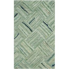 <strong>Safavieh</strong> Nantucket Green / Multi Colored Rug