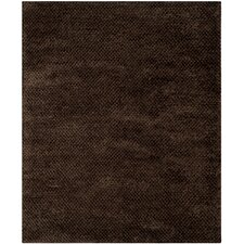 Saint Tropez Shag Chocolate Rug