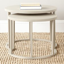 <strong>Safavieh</strong> Chindler 2 Piece Nesting Tables