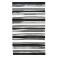 Thom Filicia Black Outdoor Rug