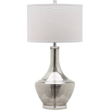 "Mercury 34.5"" H Table Lamp with Drum Shade"