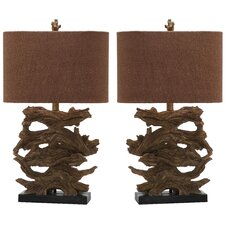 """Forester 26.5"""" H Table Lamp (Set of 2)"""
