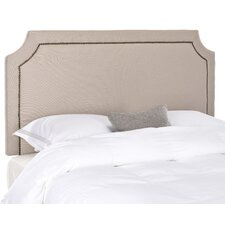 Shayne Nail Trim Upholstered Headboard