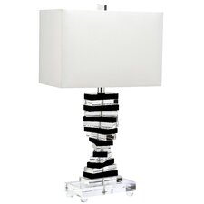 "Key 25.75"" H Table Lamp with Rectangle Shade"