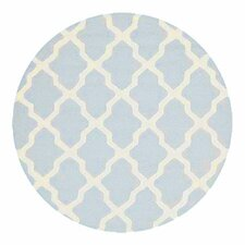 Cambridge Light Blue & Ivory Rug